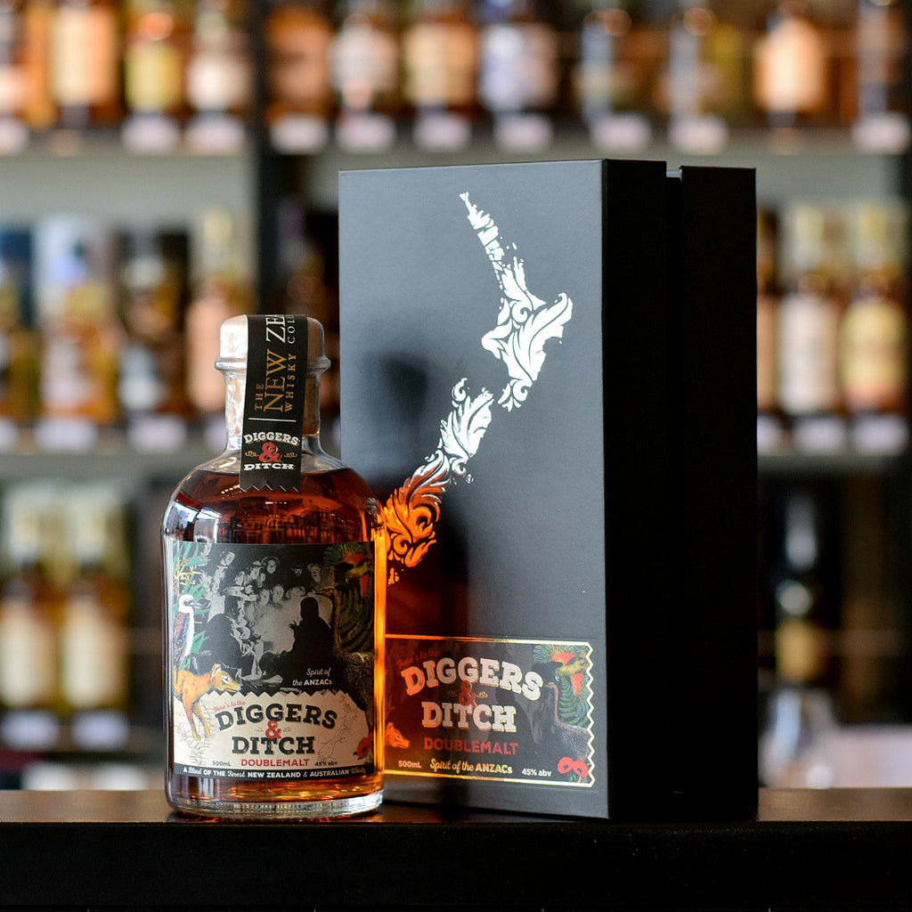 The NZ Whisky Company 'Diggers & Ditch' 45%