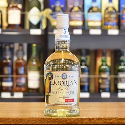 Doorly's White Rum 3 years old 47%
