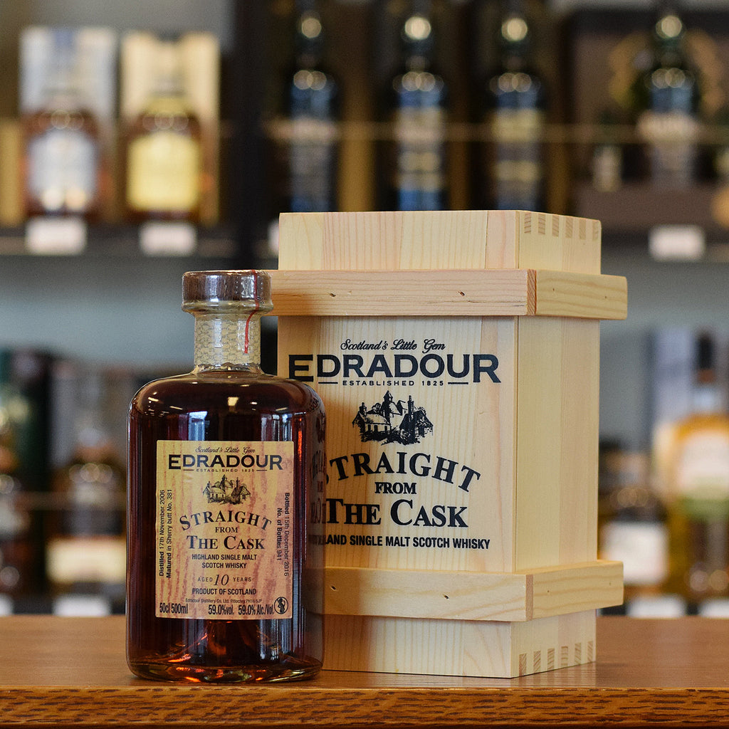 Edradour 'Straight From The Cask' 10 years old 59% 500ml