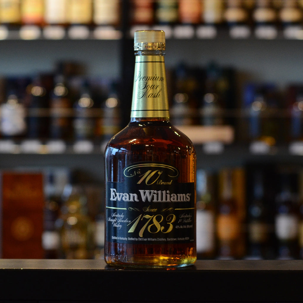 Evan Williams 1783 No.10 Brand 43%