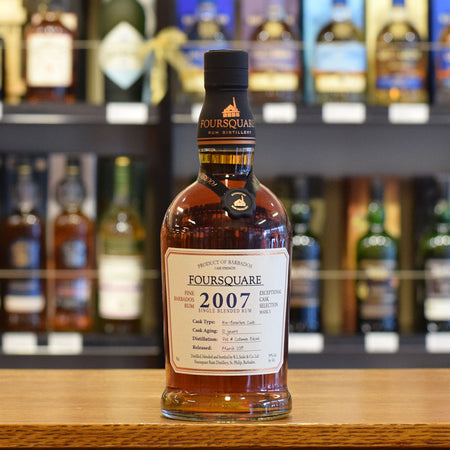Foursquare 'Exceptional Cask Selection' 2007 / 12 years old 59%