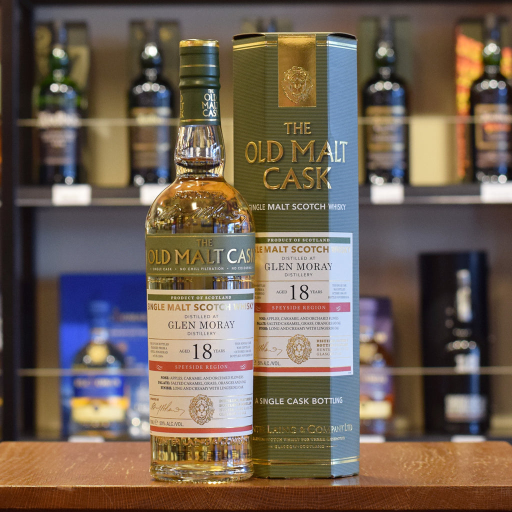 Glen Moray 'Old Malt Cask' 1998 / 18 years old 50%