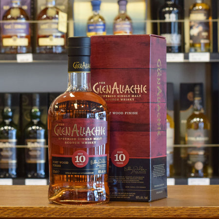GlenAllachie 'Port Wood Finish' 10 years old 48%