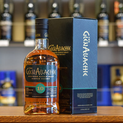 GlenAllachie 'Cask Strength' 10 years old Batch #2 54.8%