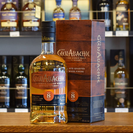 GlenAllachie 'Koval Rye Wood' 8 years old 48%