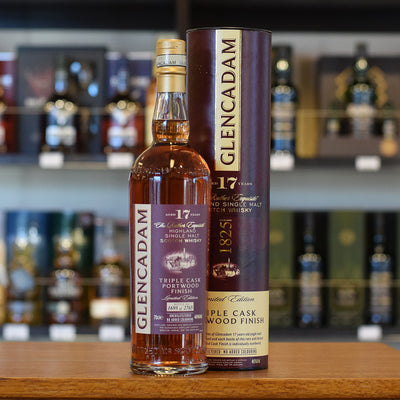 Glencadam 17 years old 'Triple Cask Portwood Finish' 46%