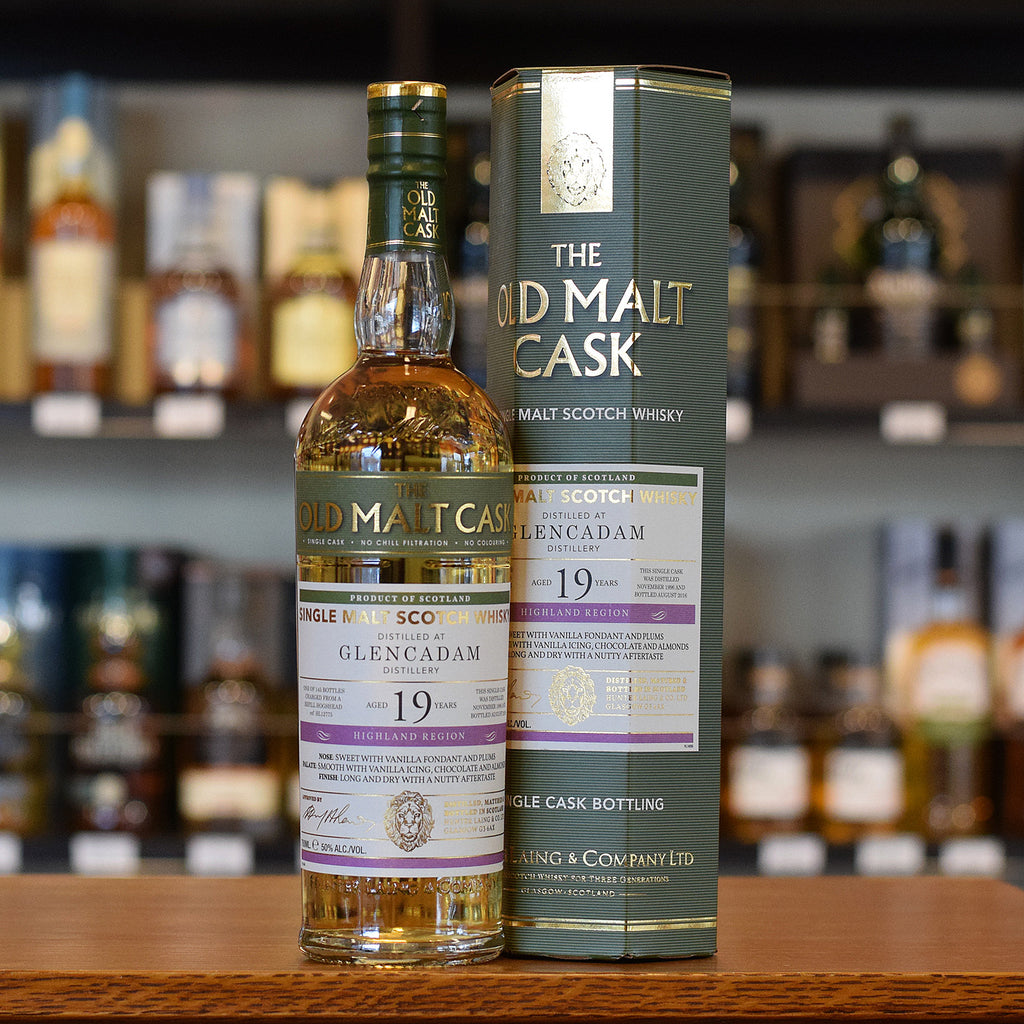 Glencadam 'Old Malt Cask' 1996 / 19 years old 50%