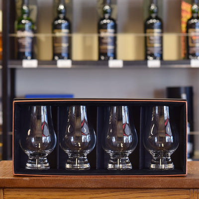 Glencairn Whisky Glass Gift Box x 4