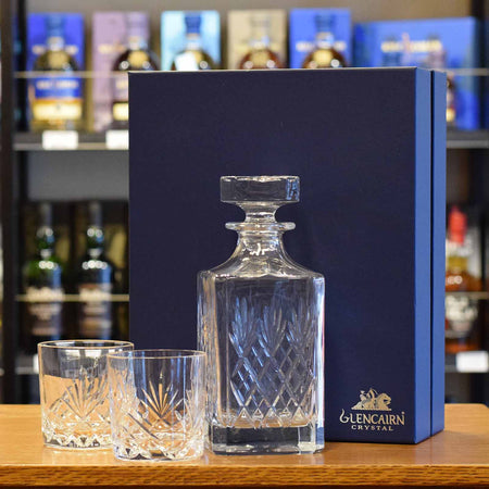 Glencairn 'Skye' Decanter with 2 glasses