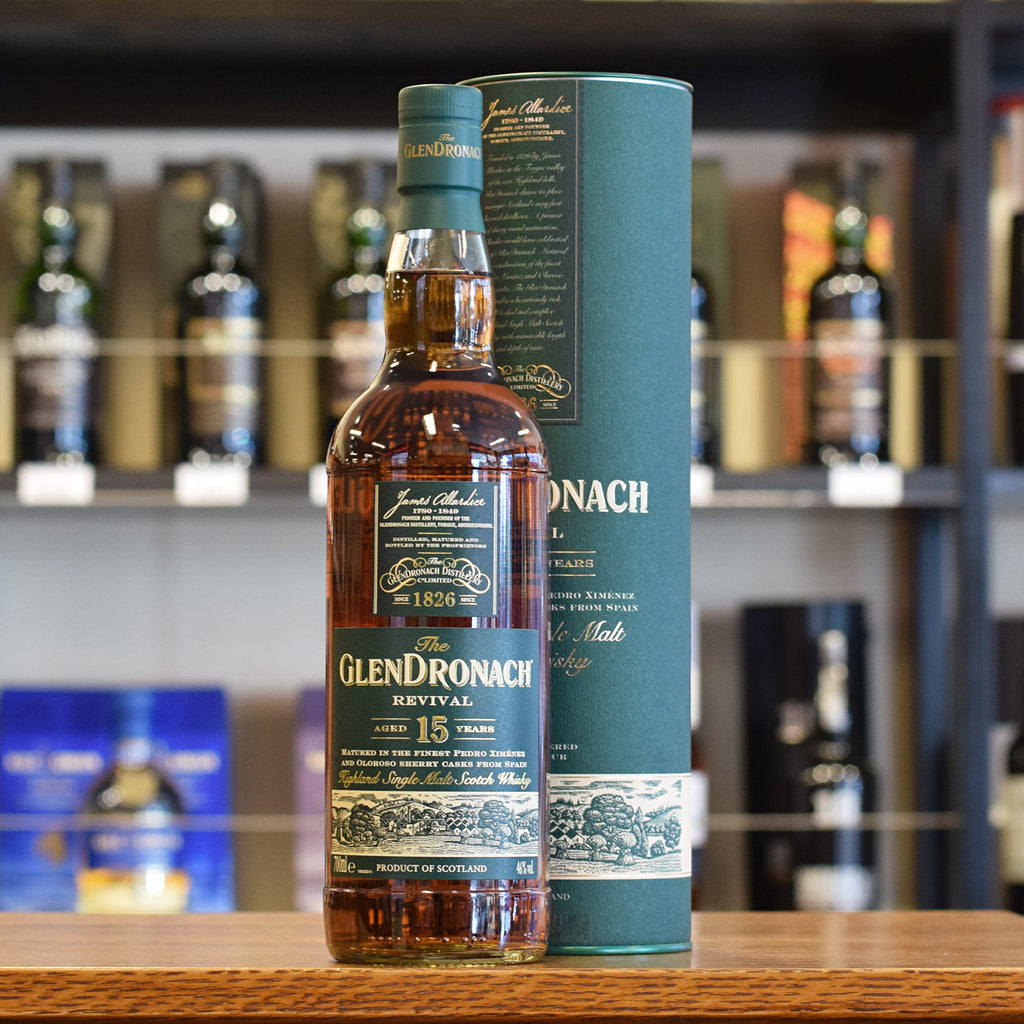 GlenDronach 'Revival' 15 years old 46%