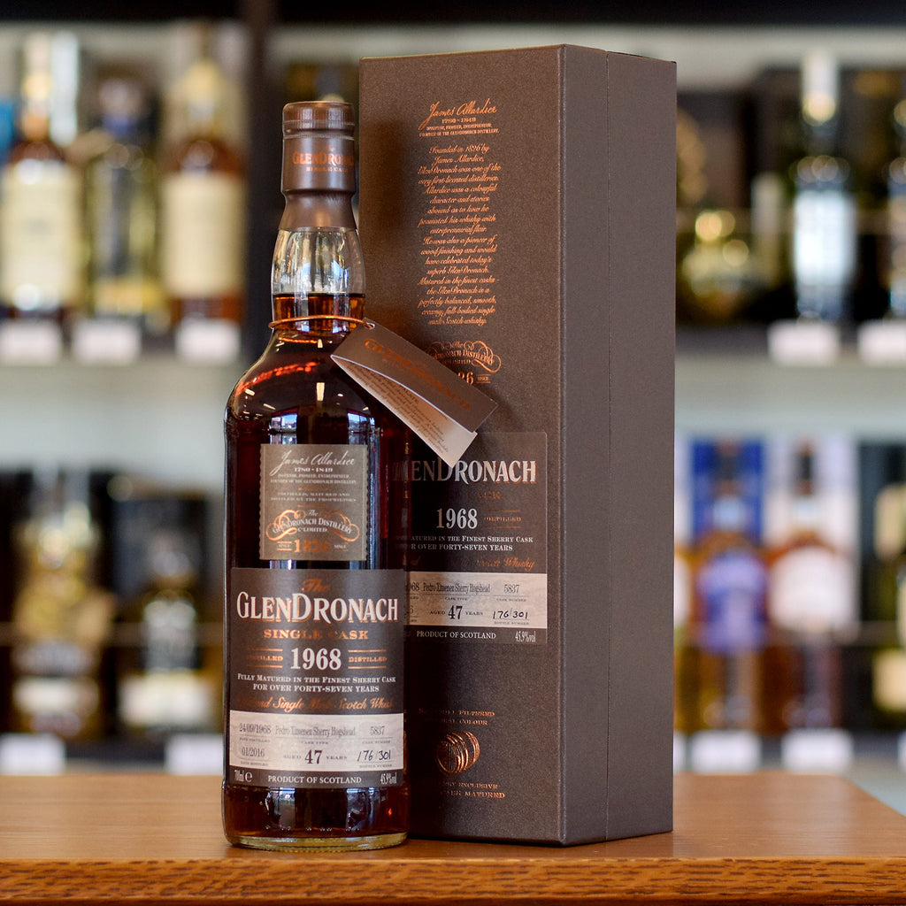 GlenDronach 1968 / 47 years old #5837 45.9%