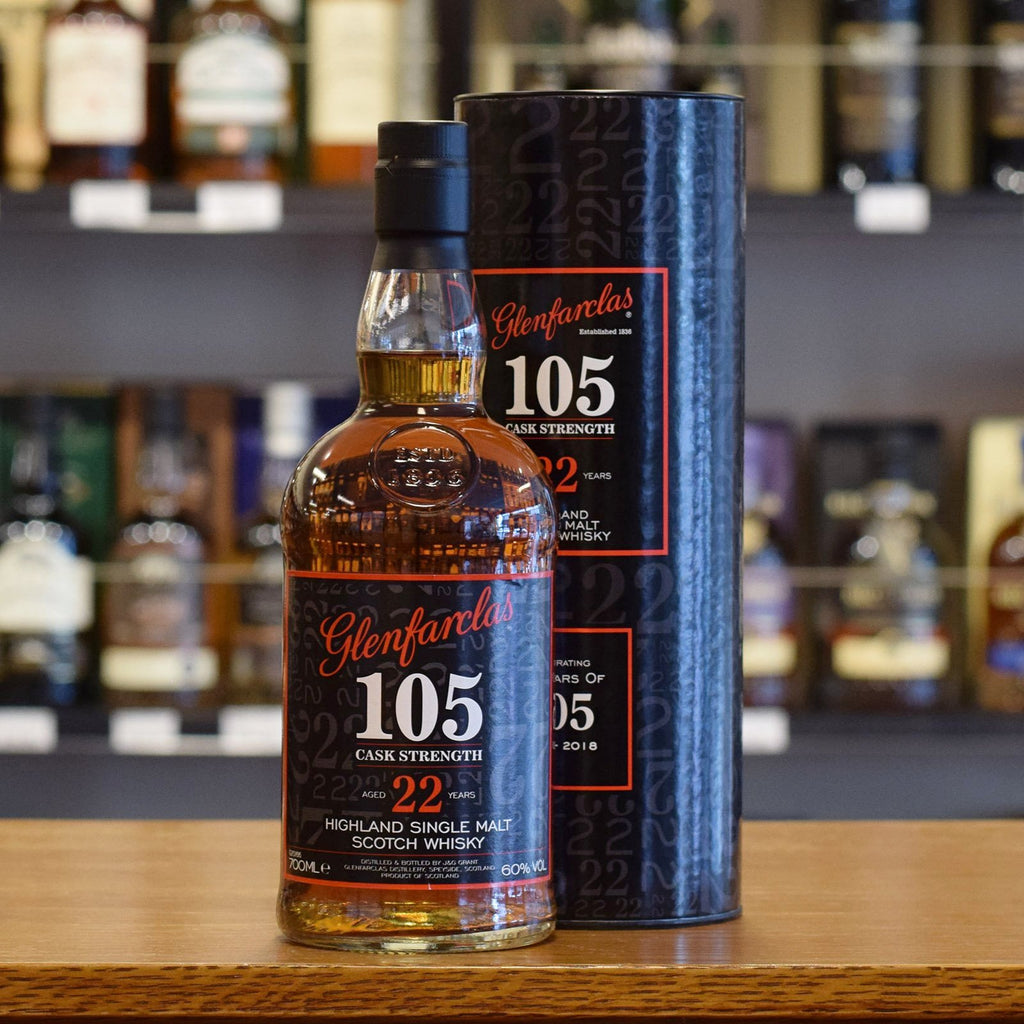 Glenfarclas '105' Cask Strength 22 years old 60%