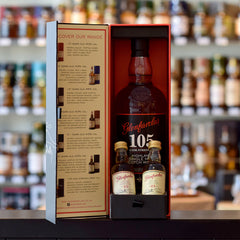 Photo of Glenfarclas 105 Gift Pack with 15 and 21 year old minis 60%
