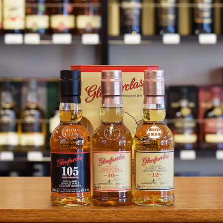 Glenfarclas Gift Pack 10 / 12 years old / '105' 3 x 200ml