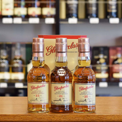 Glenfarclas Gift Pack 15 / 21 / 25 years old 3 x 200ml