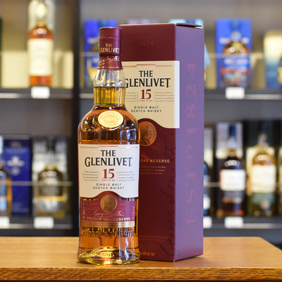 Glenlivet 15 years old 'French Oak Reserve' 40%