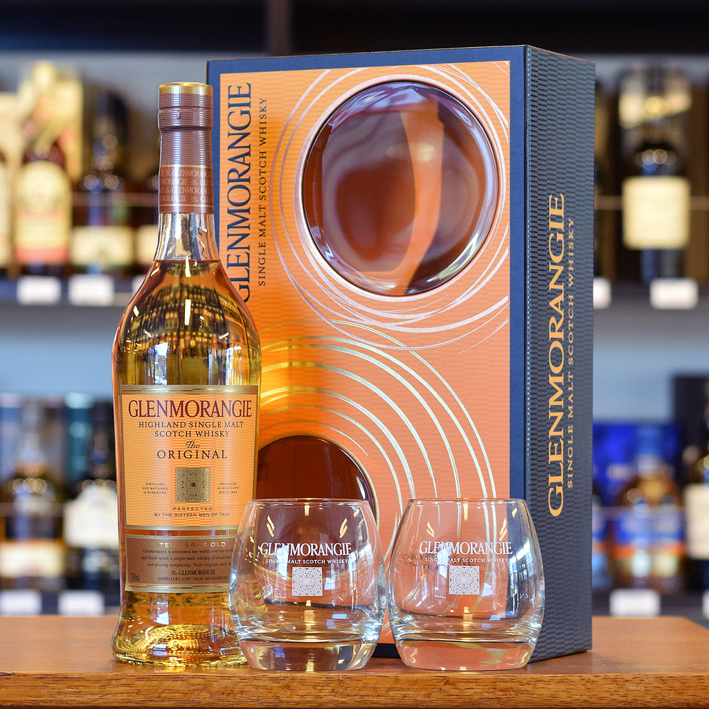 Glenmorangie 10 years old Gift pack with 2 glasses