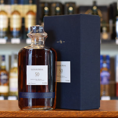 Glenury Royal 1953 / 50 years old 42.8%