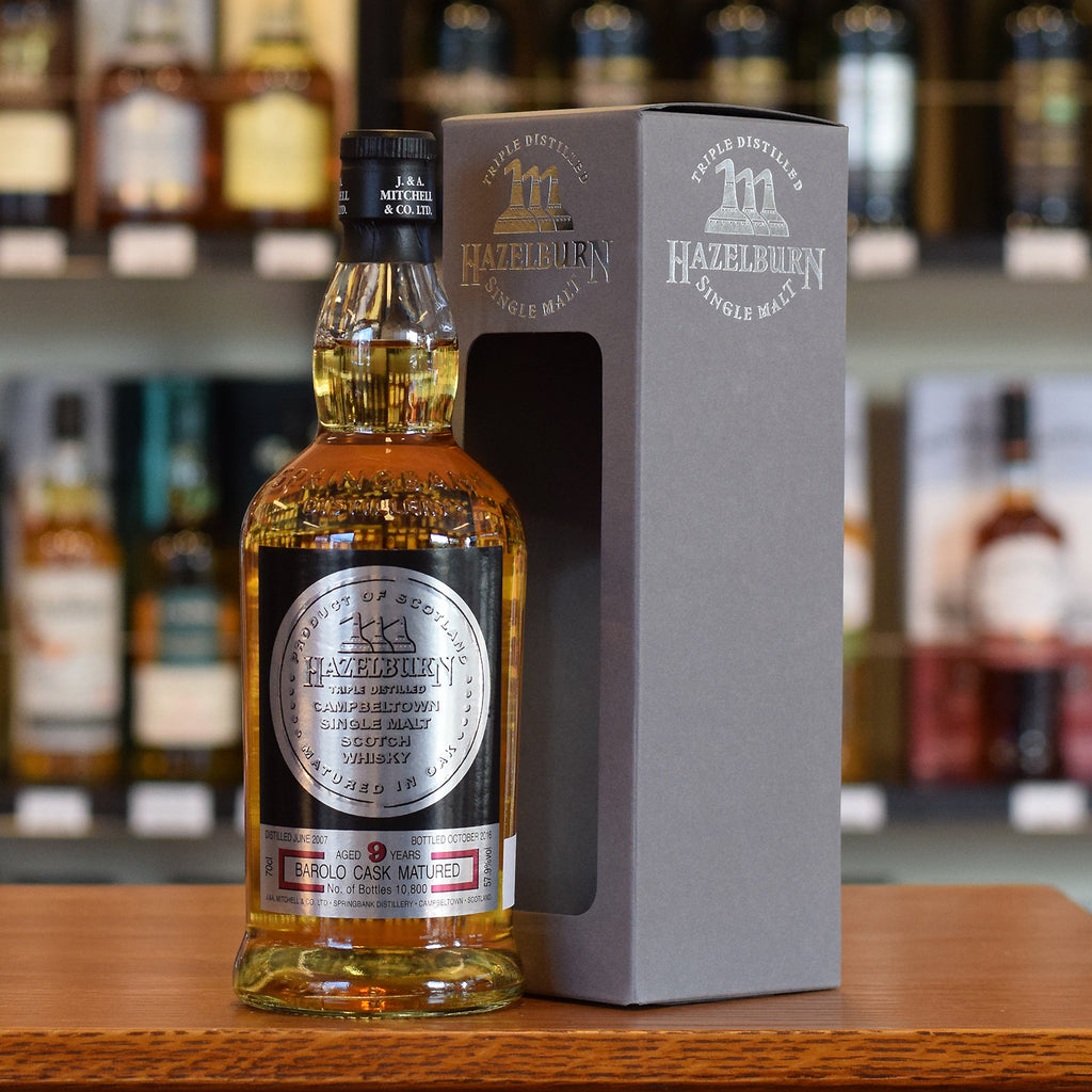 Hazelburn 'Barolo Cask Finish' 9 years old 57.9%