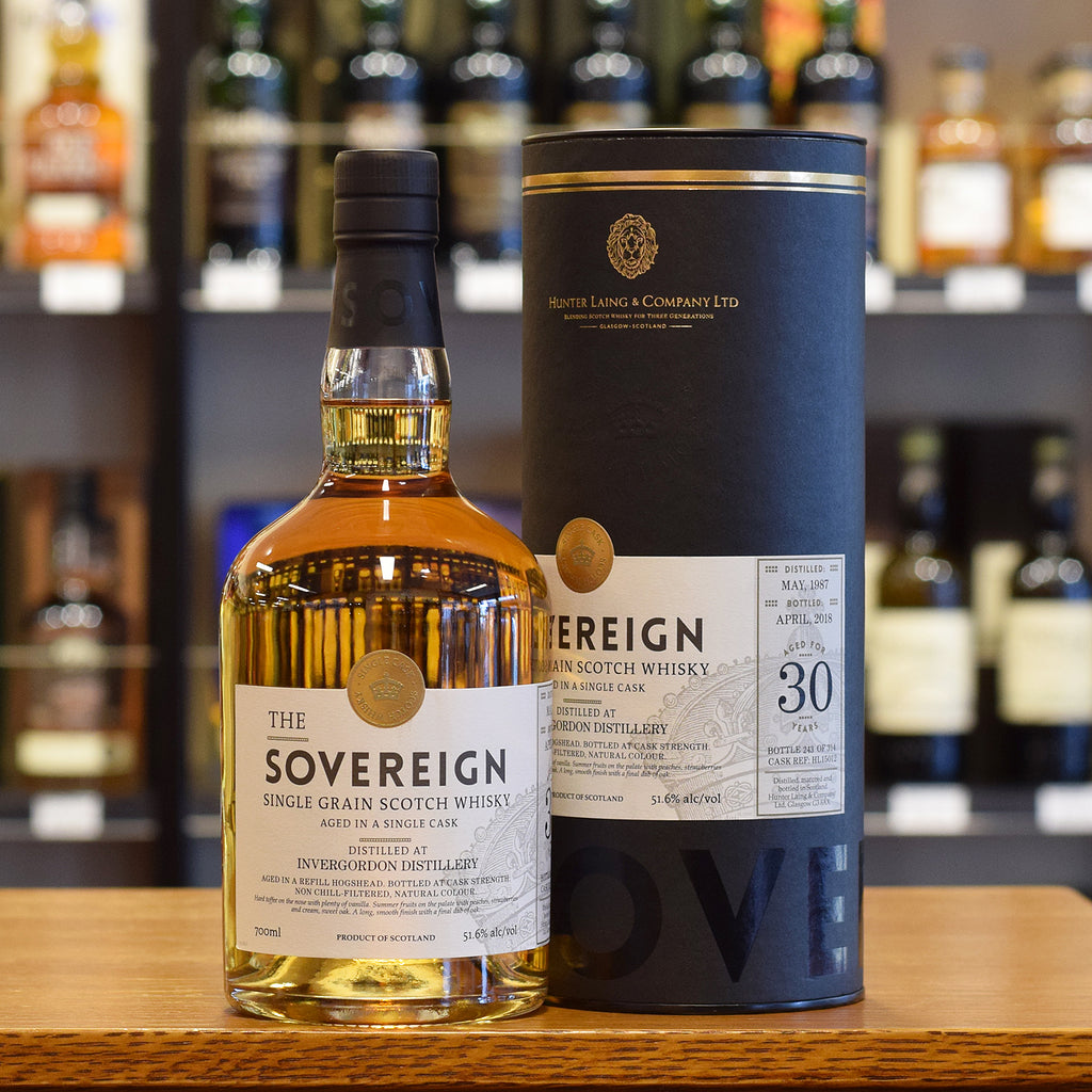 Invergordon 'Sovereign' 1987 / 30 years old 51.6%