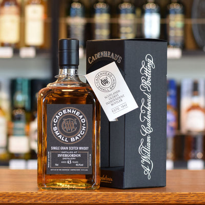 Invergordon 'Cadenhead' 1972 / 43 years old 48.3%