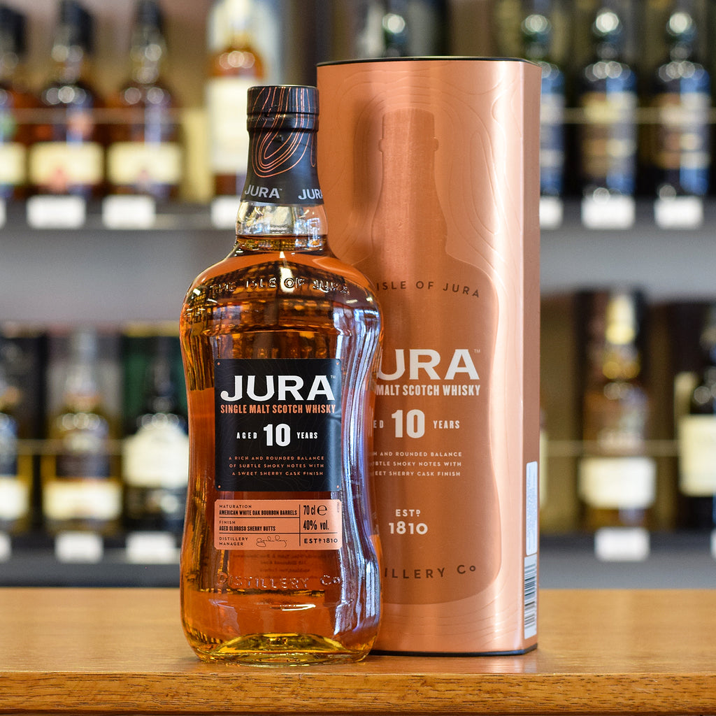 Isle of Jura 10 years old 40%