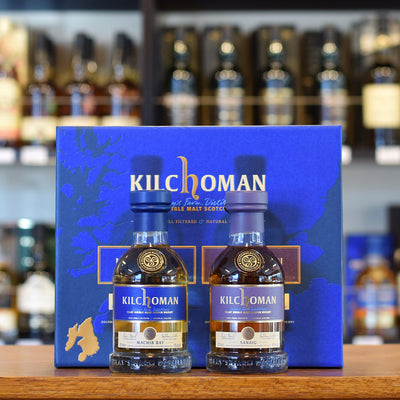Kilchoman 'Sanaig & Machir Bay' Gift Pack 2 x 200ml