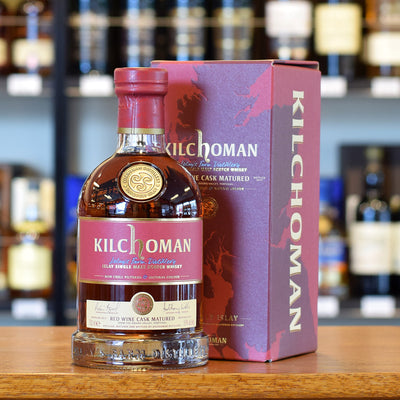 Kilchoman Red Wine Cask Matured 50%