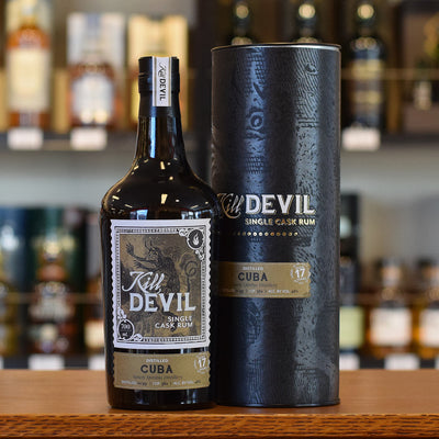 Kill Devil Rum Cuba (Sancti Spiritus) 17 years old 46%