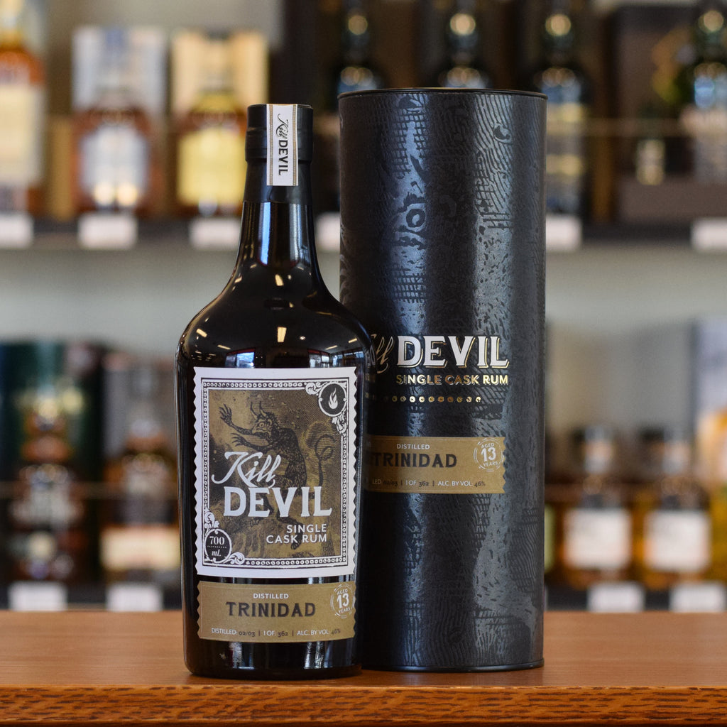 Kill Devil Rum Trinidad 13 years old 46%