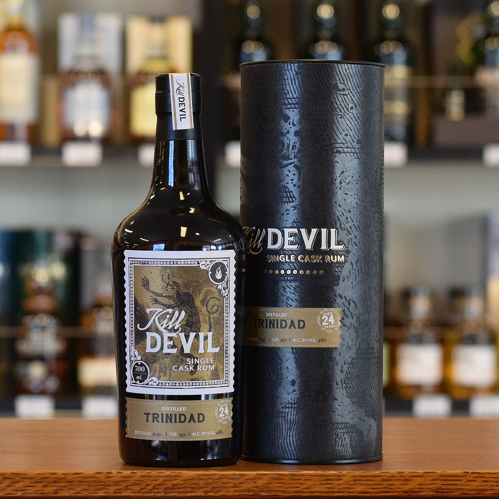 Kill Devil Rum Trinidad 24 years old 46%
