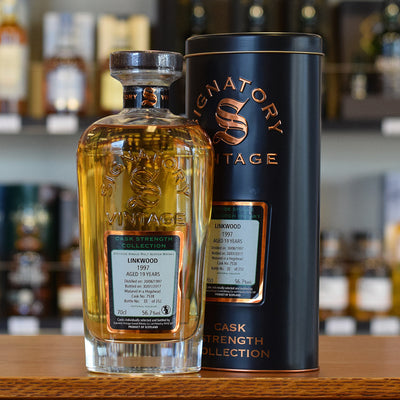 Linkwood 'Signatory' 1997 / 19 years old 56.7%
