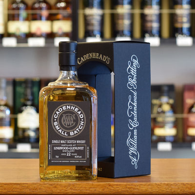 Linkwood - Glenlivet 'Cadenhead' 1995 / 22 years old 48.8%