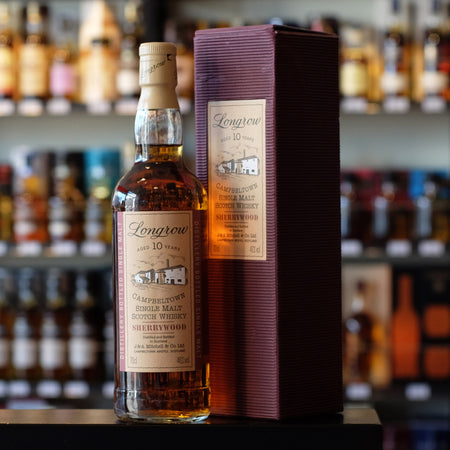 Longrow 10 years old 'Sherrywood' 46% (C)