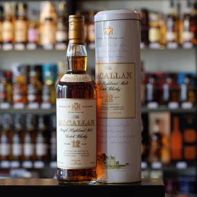 MacAllan 12 years old (old packaging) 43%