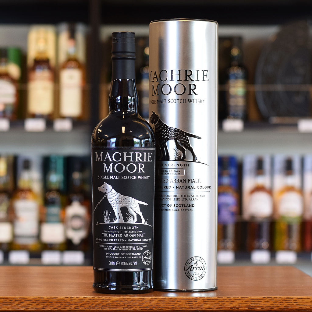 Arran 'Machrie Moor' Cask Strength 3rd Edition 58.5%