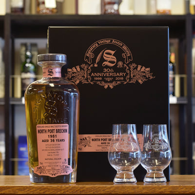 North Port 'Signatory 30th Anniversary' 1981 / 36 years old  57.2%