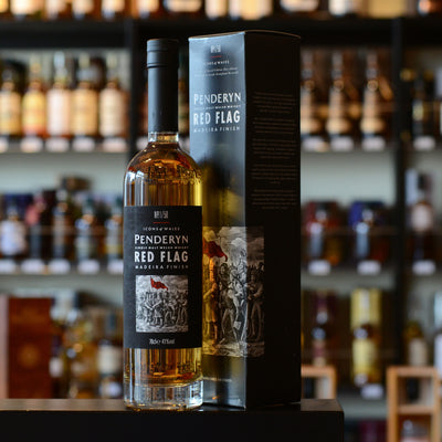 Penderyn 'Icons of Wales, Red Flag' Welsh Single Malt 41%