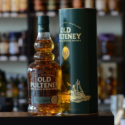 Old Pulteney 21 years old 46%