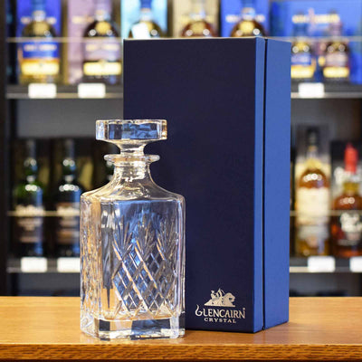 Glencairn 'Skye' Square Cut Crystal Decanter