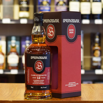 Springbank 12 years old Cask Strength 56.1%