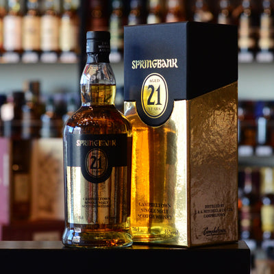 Springbank 21 years old 2015 Release 46%