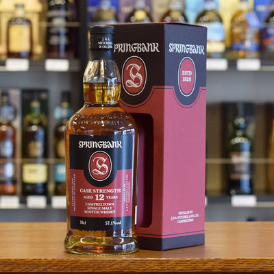 Springbank 12 years old Cask Strength 57.1%