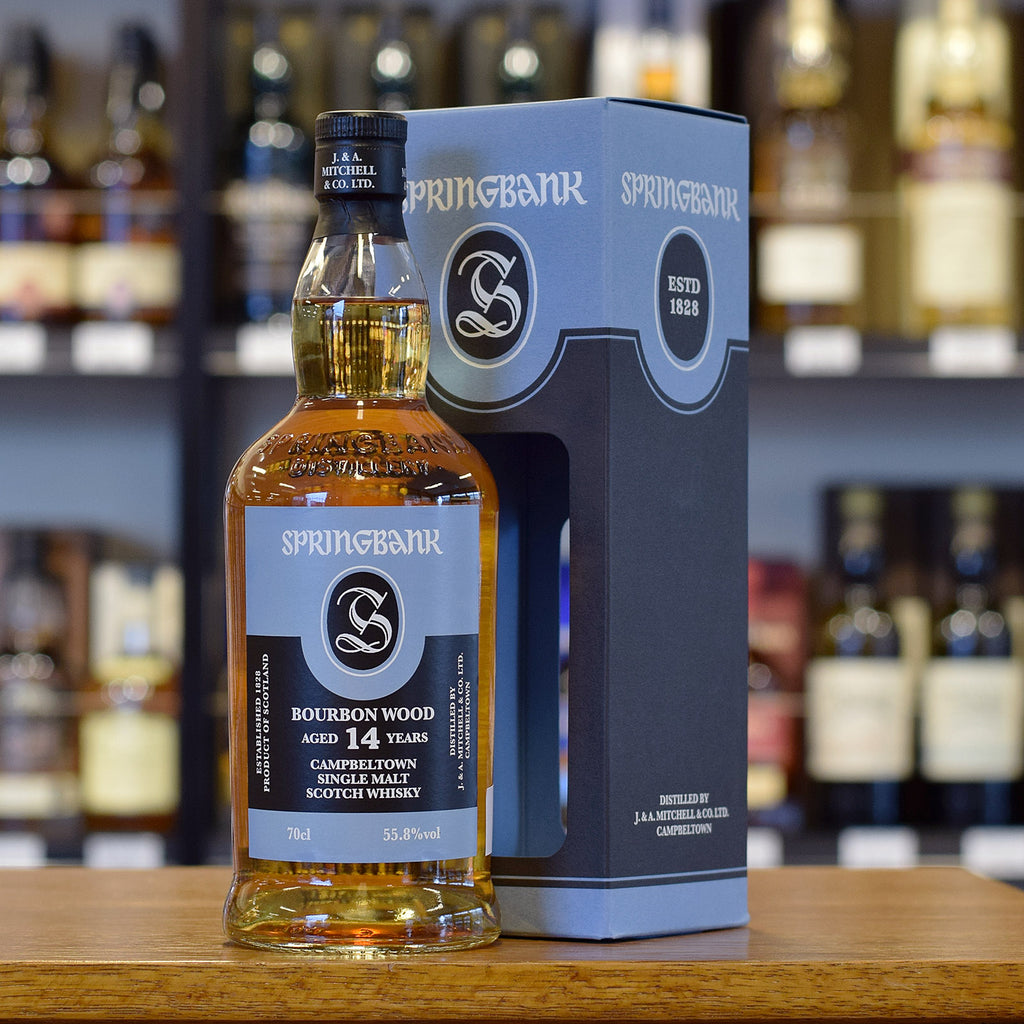 Springbank 'Bourbon Wood' 14 years old 55.8%