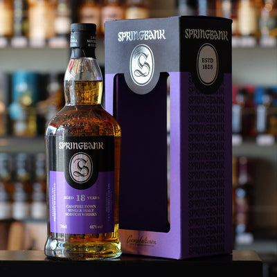 Springbank 18 years old 46%
