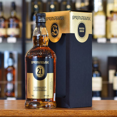 Springbank 21 years old 2017 Release 46%