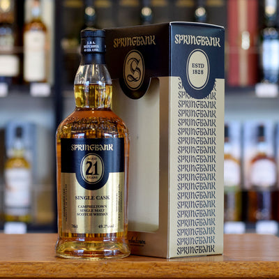 Springbank 21 years old Single Cask 49.2%