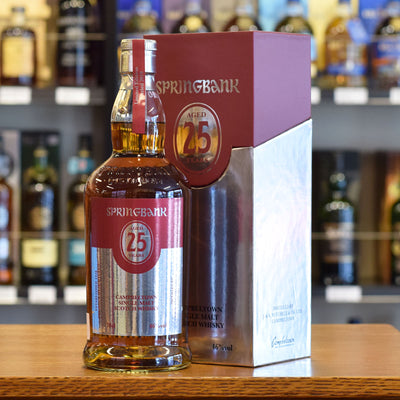 Springbank 25 years old 2019 Release 46%