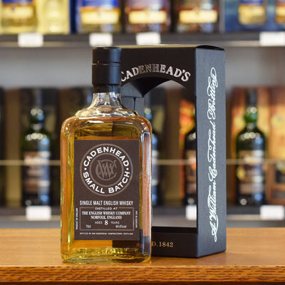 The English Distillery 'Cadenhead' 2010 / 8 years old 64.6%