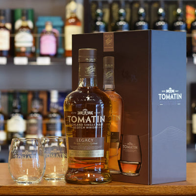 Tomatin 'Legacy' Gift Pack 43%